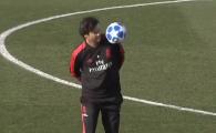 """IMAGINILE ZILEI vin din Champions League! Cum a fost surprins Santiago Solari la antrenamentul Realului: """"Inca mai poate!"""" :)"""