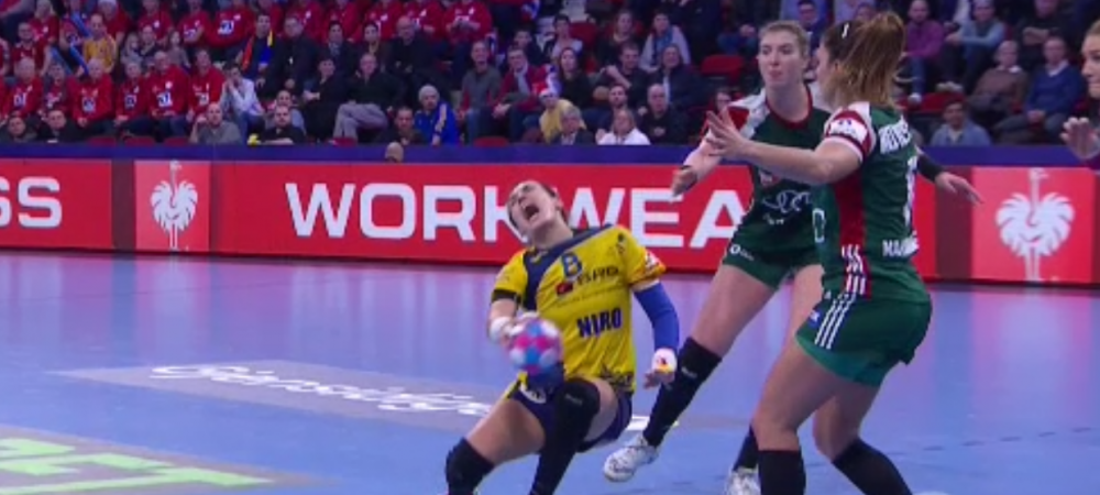 Momente TERIBILE pentru Cristina Neagu! Romanca, scoasa pe targa in meciul cu Ungaria | FOTO