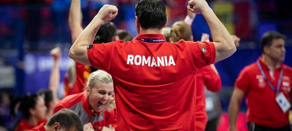 """Trista bucurie a calificarii!""Mihai Mironica dupa Romania - Ungaria la EHF EURO"