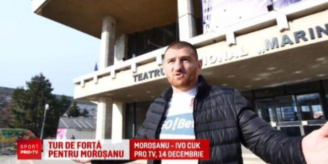 Morosanu L-A PROVOCAT pe Ghita!  Daniel, un an mai ai!  Moartea din Carpati lupta vineri la PRO TV!