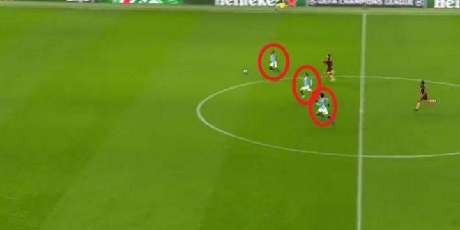 Ratarea sezonului, in Liga! Trei jucatori ai lui City au scapat singuri spre poarta lui Hoffenheim. Ce s-a intamplat
