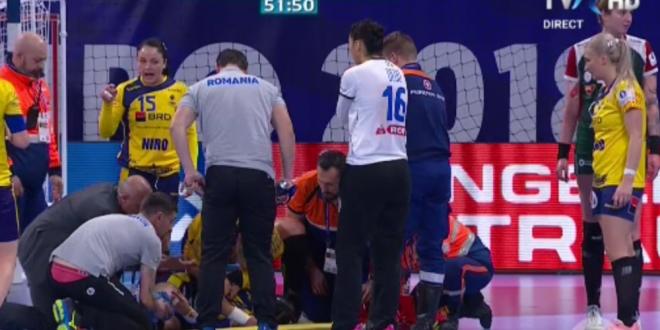 Cat de grava este accidentarea Cristinei Neagu si ce sanse mai are sa joace la EURO! Jucatoarea de la CSM chemata sa-i ia locul