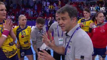 """Discursul care ne-a adus calificarea! Mesajul transmis de Ambros Martin la ultimul time out al meciului: """"E OK pentru noi!"""""""