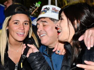 Probleme fara sfarsit! Maradona, parasit de iubita si dat afara din casa pe care chiar el o cumparase!