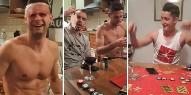 Steliano Filip plateste scump pentru  ORGIA  cu alcool, poker si tigari! Cum a fost pedepsit de croati