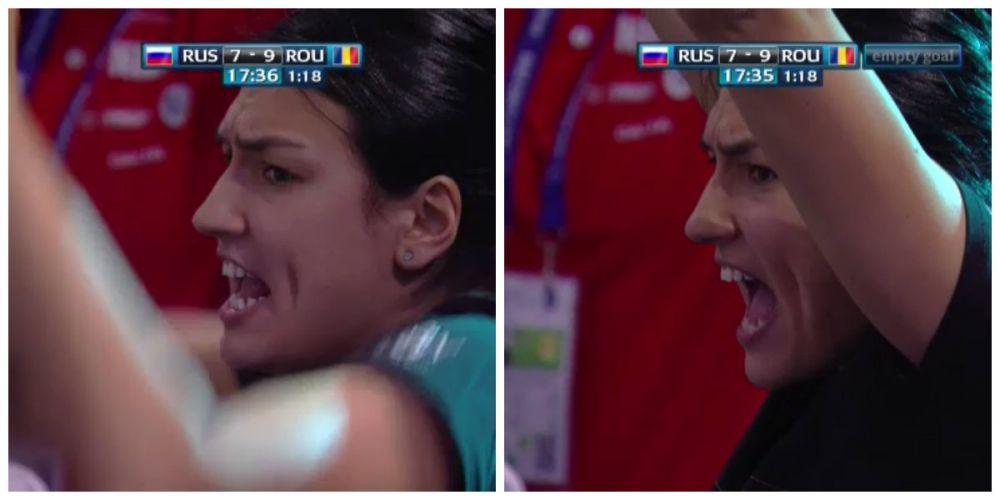 ROMANIA - RUSIA, EHF EURO | Cristina Neagu, ULTRAS pentru Romania! Cum a fost surprinsa de camere la meciul cu Rusia. FOTO