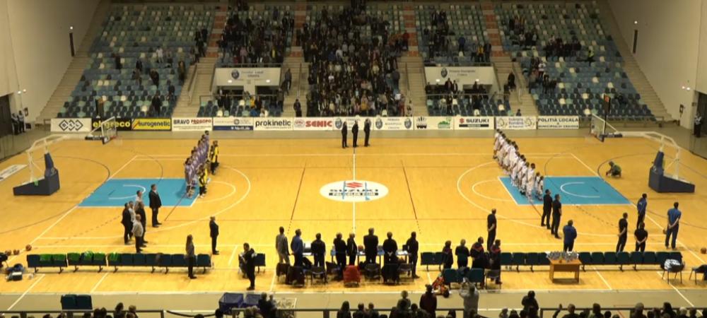 LIVE VIDEO   Sibiu - Craiova, in Liga Masculina de Baschet