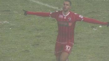 """Reactia noului erou al lui Dinamo dupa ce i-a dat 3 goluri Craiovei: """"E primul hat trick din cariera mea! Joc bine in fata lui Mangia"""". Ce a spus Montini"""