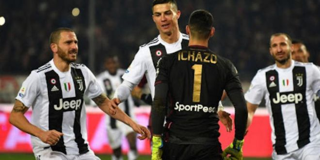 Video | Gest urat al lui Ronaldo la adresa portarului lui Torino, dupa ce a inscris. Reactia lui Balotelli