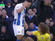 FOTO | Florin Andone a oferit imaginea zilei in Premier League! Si-a incordat muschii la David Luiz: cum s-a terminat faza