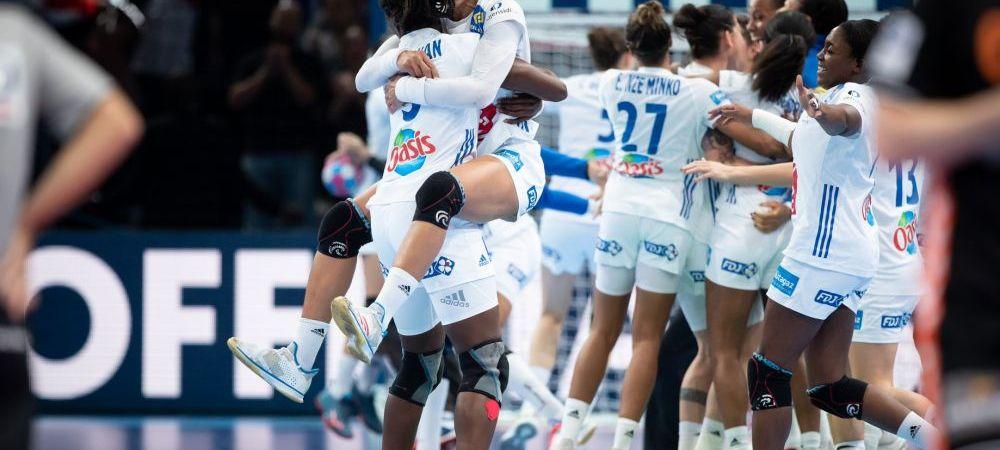 Franta este noua campioana a Europei! Frantuzoaicele au rapus Rusia lui Trefilov la Paris, 24-21! Meci nebun: Pineau, eliminata pentru ca i-a dat cu mingea in fata Sedoykinai