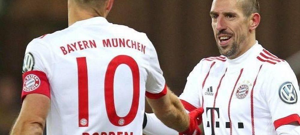 Lista fantastica a jucatorilor pe care Bayern a pus ochii ca sa-i inlocuiasca pe Robben si Ribery