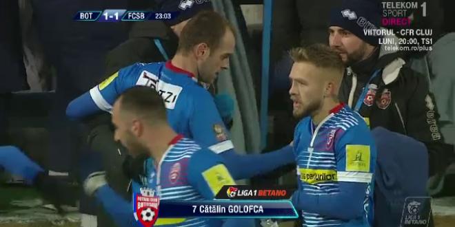 BOTOSANI - FCSB | Golofca s-a razbunat dupa umilinta de la FCSB si contesta rezultat:  Au avut noroc, meritam cel putin un egal!