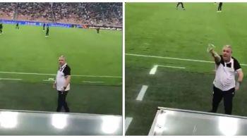 """Vrei coach? Na, COACH!"" Sumudica, CRIZA DE NERVI la adresa unui suporter in Arabia Saudita! VIDEO"