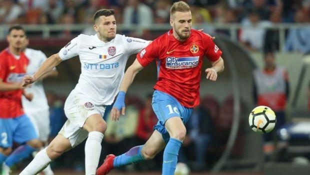 Dubla lovitura pentru FCSB! CFR ia doi jucatori imediat dupa derby: negocierile, in linie dreapta