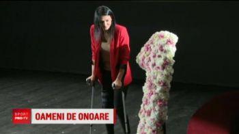 """Cristina Neagu, cetatean de onoare al Capitalei: """"Imi pare rau ca nu pot sa ma comport ca un om normal!"""""""