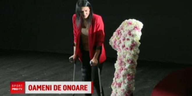 Cristina Neagu, cetatean de onoare al Capitalei:  Imi pare rau ca nu pot sa ma comport ca un om normal!