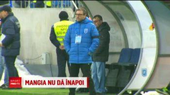 """Mangia nu se gandeste sa plece: """"Demisie? Adica eu sa...EXCLUS!"""" Craiova i-a prelungit contractul portarului care a luat 3 goluri de la Dinamo"""
