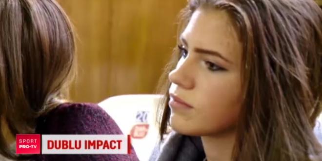 Gemenele Bouchard au concurenta din Romania! Larisa si Vanesa, surorile care joaca la Baia Mare, pot concura la Miss si dribleaza imaginatia fanilor: VIDEO