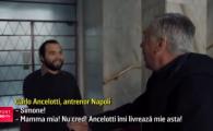 """Momentul acela in care Ancelotti iti bate la usa! Genial: """"Don Carlo"""" s-a facut postas de sarbatori si le-a livrat fanilor tricourile comandate"""