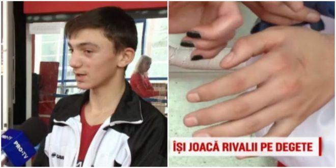 SPECIAL | A devenit campion cu mana rupta si are o poveste grea! Pustiul din Romania care se bate pentru a-si aduce parintii acasa:  Vreau la Jocurile Olimpice
