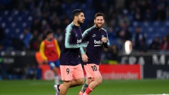 Messi si Suarez peste Real si Atletico! Performanta incredibila reusita de jucatorii Barcelonei!