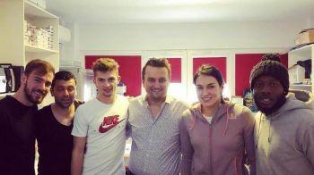 FCSB nu se refuza :) Pana la urma, Cristina Neagu l-a vizitat pe medicul vicecampionilor. FOTO