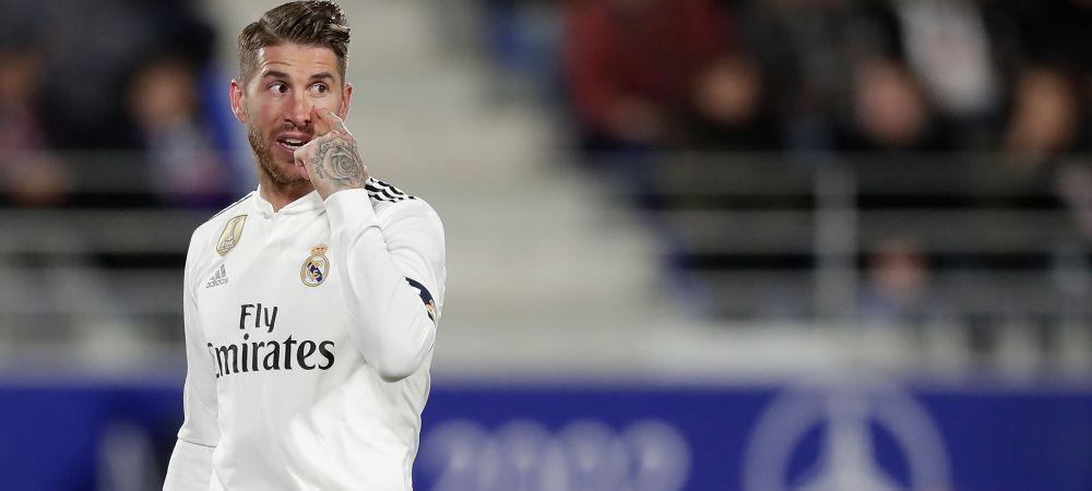 Sergio Ramos a UIMIT din nou! Cum a fost surprins capitanul de la Real in Emirate   FOTO