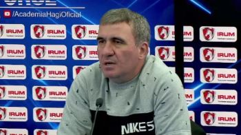 """Ei au gresit, nu Becali! L-au dat afara pe Galca, luase trei trofee!"" Conferinta EXPLOZIVA Gica Hagi. VIDEO"