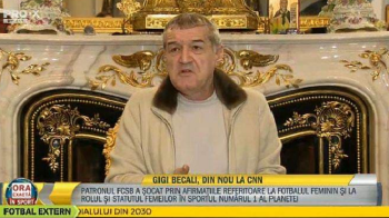 """FCSB risca depunctarea dupa declaratiile lui Becali! Comunicatul oficial al Federatiei: """"Dezaprobam total un asemenea comportament!"""""""