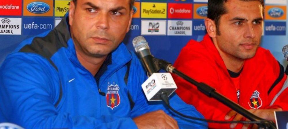 """FCSB - CFR Cluj, astazi   Olaroiu ii ia apararea lui Dica: """"E mult mai greu sa faci ce face Dica decat ce fac eu!"""" Ce spune despre derby"""