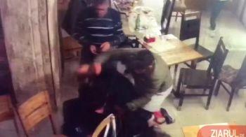 Incident HALUCINANT la Craiova! Un antrenor de box a fost umplut de sange intr-un bar! ATENTIE, IMAGINI SOCANTE