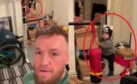 GENIAL! Ce face fiul lui Conor McGregor, cand intra in garajul plin de wiskey al tatalui sau :)) VIDEO