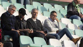 Surpriza uriasa: Mourinho, pe stadion la 5 zile dupa ce a fost dat afara de la Man United! La ce partida s-a dus