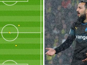 """Rusinea weekend-ului! """"Fantoma"""" Mitroglou a atins mingea doar de 3 ori intr-o repriza"""