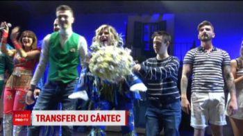 Loredana face colectie de tricouri cu Craiova! Cantareata le-a propus si un jucator oltenilor! Cine este alesul ei!