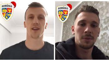 Mesajul de Craciun al capitanilor echipelor nationale! Chiriches, Radu, Manolache si Dragusin au acelasi vis: Sa duca Romania cat mai sus! | VIDEO