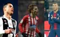 Ronaldo, Mbappe si Griezmann se lupta pentru un PREMIU la final de an! Castigatorul, anuntat pe 3 ianuarie