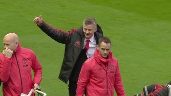 Solskjaer, emotionat pana la lacrimi! Cum a fost primit norvegianul de fanii lui Manchester United! Aparitia surpriza din tribuna!