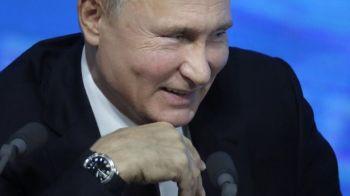 Avionul de 430 milioane al lui Putin are WC placat cu AUR, dormitor, sala de fitness si de conferinte. FOTO