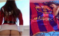 Sarbatori fericite! :) Trimisa lui Mos Craciun, cea mai sexy sustinatoare a Barcelonei, s-a dezbracat pentru a celebra victoriile favoritilor! GALERIE FOTO