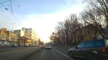 Scene socante pe strazile din Bucuresti! Ce se intampla cand o sicanare in trafic merge prost | FOTO
