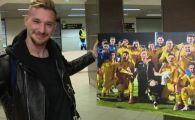 """Grande Radu! Moment incredibil in aeroportul din Bucuresti: """"Ai jucat ieri, nu? Hai sa facem o poza, te rog!"""" Romanul, oprit de fanii lui Inter"""