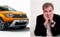 """Jeremy Clarkson, Dacia Duster cea mai PROASTA masina a anului: """"Nimeni nu conduce asemenea masina cu demnitatea intacta!"""""""