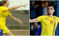 Cum arata fotbalista care a marcat GOLUL ANULUI pentru nationala! L-a invins de doua ori pe Ianis Hagi! VIDEO