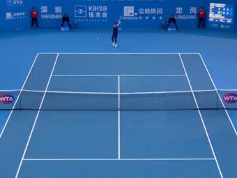 Monica Niculescu a DISTRUS-O pe Ostapenko si e in optimi la Shenzhen! A avut nevoie de numai 52 de minute pentru victorie