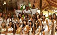 FABULOS! Neymar a dat petrecere monstru cu 26 de femei de Revelion, in Brazilia! Ce jucator de la Barca i-a fost alaturi
