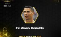 N-a luat Balonul de Aur, trebuie sa se multumeasca cu GLOBUL DE AUR! Ronaldo, desemnat cel mai bun jucator din lume in gala Globe Soccer Awards
