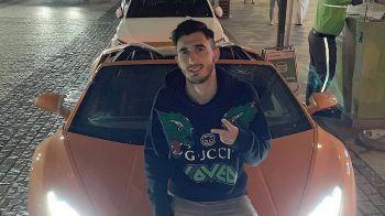 """Andrei Ivan, zi de lux intre seici! S-a """"dat"""" cu Lamborghini de sute de mii de euro prin Dubai! FOTO"""