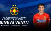 """Florentin Matei, prima imagine in tricoul FCSB: """"M-am intors acasa!"""" Ce numar va purta. FOTO"""